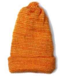Soft Tots Mustard Cap - Orange & Yellow