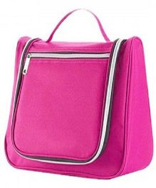 Home Union Multi Utility Toiletry Bag With Handle - Pink