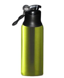 Home Union Ruby Stainless Steel Sports Bottle - Green