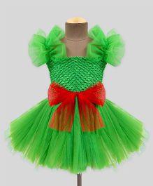 Mistletoe Holiday Tutu Dress - Green