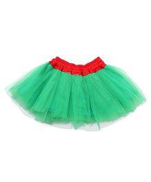 Mistletoe Holiday Tutu Skirt - Green