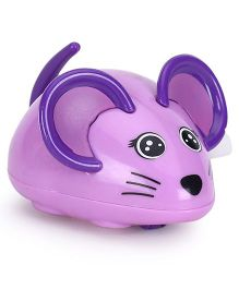 Playmate Wind Up Mouse Toy - Purple