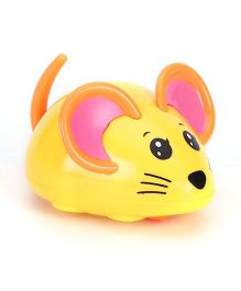 Playmate Wind Up Mouse Toy - Yellow Orange