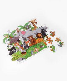 Ratnas Animal Jungle Puzzle