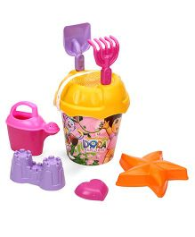 Dora Beach Bucket With Accessories - Multicolor