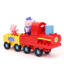 Peppa Pig Grandpa Pig's Train Construction Set - Red Yellow