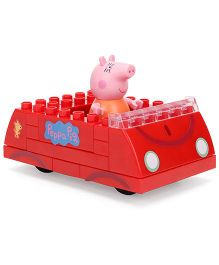 Peppa Pig's Family Car Construction Set - Red