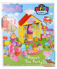 Peppa Pig Tea Party Doug Set - Multi Color