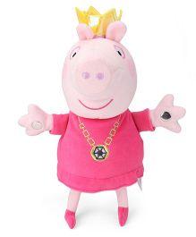 Peppa Pig Singing Princess Soft Toy  Pink - 32 cm