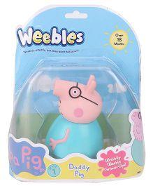 Peppa Pig Weebles Daddy Figure - 10.5 cm