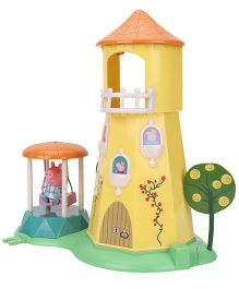 Peppa Pig Princess Rose Garden And Tower - Multicolor