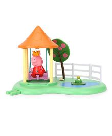 Peppa Pig Garden Swing Playset - Multicolor