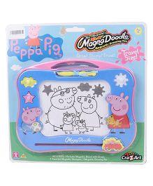 Peppa Pig Magnetic Doodle Board - Multicolor