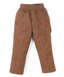 Jash Kids Full Length Pant - Khaki Brown