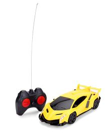 Playmate Remote Controlled Sports Car - Yellow