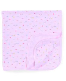Zero Wrapper Kitten & Ballon Print - Pink