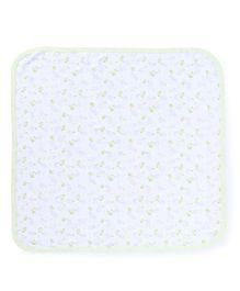 Zero Wrapper Teddy Print - White Green