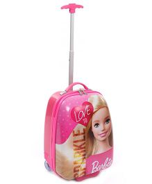 Barbie Trolley Luggage Bag Love To Sparkle - Pink