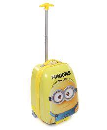 Minions Dave Luggage Bag - Lemon Yellow