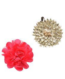Miss Diva Gotta Flower & Single Flower Tic Tacs - Silver & Magenta