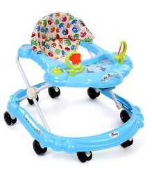 Sunbaby Butterfly Walker With Froggy Face Print Seat - Blue