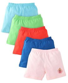 Chhota Bheem Shorts Pack Of 5 - Multicolor