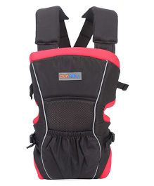 Sunbaby 4 Way Baby Carrier Black Red - SB 5007