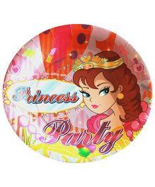 Shopaparty Princess Party Plates - Multicolour