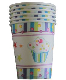 Shopaparty Cupcake Cups - Blue & White