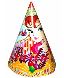 Shopaparty Princess Party Hats - Multicolour
