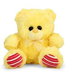 Funzoo Teddy Bear Soft Toy Yellow And Red - 26 cm