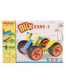 Zephyr Blix Cars 1 Construction Set Multicolor - 45 Pieces