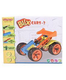Zephyr Blix Cars 2 Construction Set Multicolor - 76 Pieces