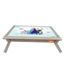 Orka Team Frozen Digital Printed Folding Laptop Table - Multi Color