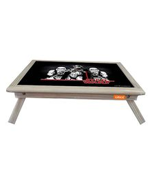 Orka Team Star Wars Digital Printed Folding Laptop Table - Black