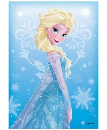 Orka Wall Poster Frozen Princess Digital Print With Lamination - Blue
