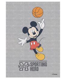 Orka Wall Poster Disney Mickey The Super Hero Digital Print With Lamination - Grey