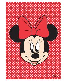 Orka Wall Poster Disney Minnie Face Digital Print With Lamination - Red