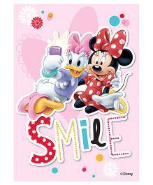 Orka Wall Poster Disney Daisy & Minnie Digital Print With Lamination - Pink