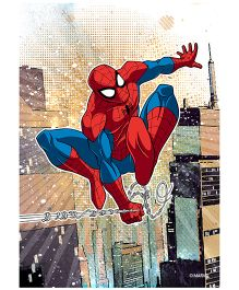 Orka Wall Poster Marvel Amazing Spidermen Digital Print With Lamination - Red And Blue