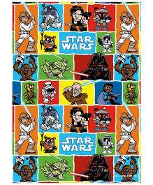 Orka Wall Poster Starwars Starwars Comics Digital Print With Lamination - Multi Color
