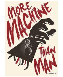 Orka Wall Poster Starwars More Machine Than Man Digital Print With Lamination - Cream