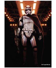 Orka Wall Poster Starwars Storm Trooper Digital Print With Lamination - Black
