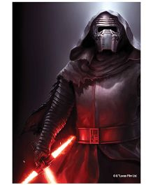 Orka Wall Poster Starwars Darth Vadar Digital Print With Lamination - Black