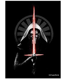 Orka Wall Poster Starwars Vadar Digital Print With Lamination - Black
