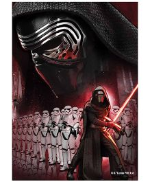 Orka Wall Poster Starwars Team Darth Vadar Digital Printed With Lamination - Black