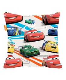 Orka Pixar Cars Digital Printed Polyfill Cushion - Multi Color