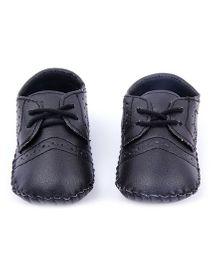 Alle Alle Smart Tie Up Shoes - Black
