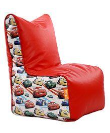 Orka Disney Pixar Cars Digital Printed Bean Chair XL Cover - Red