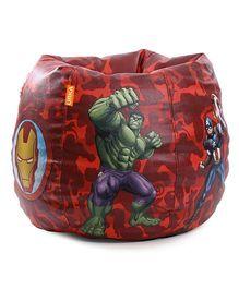 Orka Marvel Avengers Digital Printed Bean Bag XL Cover - Red